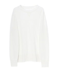 Men's slub pucker l/s crewneck