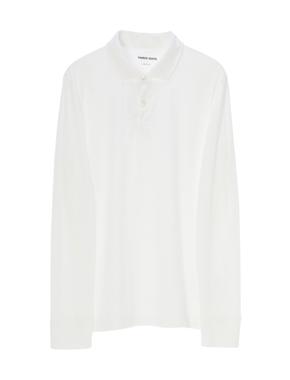 threedots(スリードッツ)のMen's sanded jersey l/s polo tee(サンデッドジャージー ポロ 長袖)