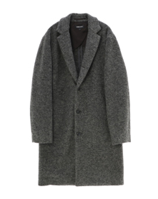 airly compress wool coat