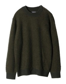 wool nylon l/s mock neckPO
