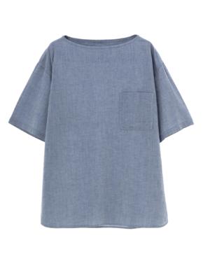 threedots(スリードッツ)のmen's s/s crew neck shirt(クルーネック シャツ)