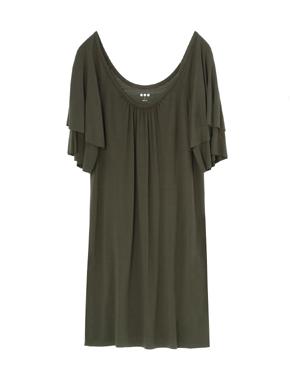 threedots(スリードッツ)のlt wt viscose spring dress(スプリングドレス)
