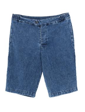 threedots(スリードッツ)のdenim sweat shorts(デニム スウェット ショートパンツ)