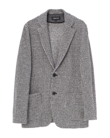 houndstooth 2patch jacket