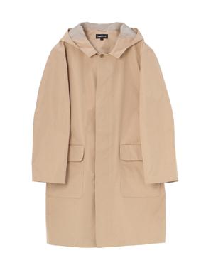 threedots(スリードッツ)のpoly reversible hoodedcoat(リバーシブル フーデッドコート)