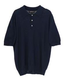 high twist cotton s/s polo