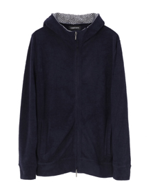 light pile l/s zip hoody