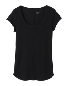 herritage knits basic scoop tee