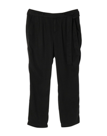 all weather twill pleated pant