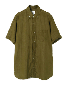 men's double gauze s/s shirt