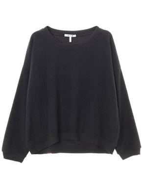 threedots(スリードッツ)のsherpa yarn dye drop sweatshirt(シェルパヤーンダイ スウェットシャツ)