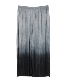 pleated ombre pant