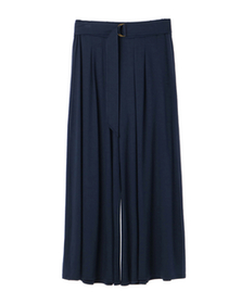 travel line pleated pant