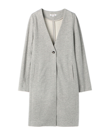 threedots(スリードッツ)のcompact fleece coat(コンパクトフリース コート)