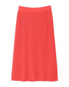 threedots(スリードッツ)のknit bottoms pleated midi skirt(ニットボトム プリーツスカート)