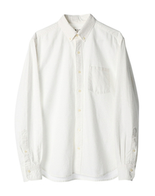 cotton linen l/s shirt