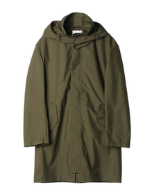 poli outer hooded coat